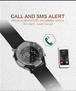 EX18 Sport Smart Watch IP68 Impermeable 5ATM Pasómetro Xwatch Natación Smartwatch Bluetooth Reloj para Smartphone