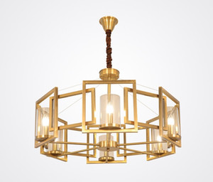 Illuminazione moderna LED Doppia spirale Oro Chandelier per Foyer Stair Scala Camera hotel HallCeiling Hanging sospensione lampada a sospensione LLFA