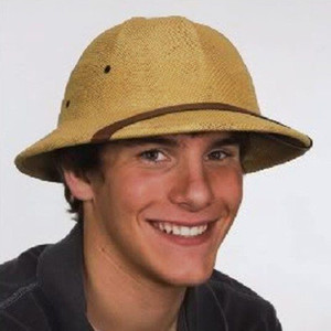 Límite al por mayor Bretaña Explorador Sombrero fresco del casco sombrero del verano del casquillo de médula carcasa del casco exterior Vietnam Casco personalizables Tacaño del borde de los sombreros