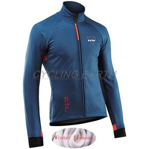 Northwave 2020 Kış Ceket Termal Polar Erkekler Bisiklet Jersey Giyim Dağ Açık Triatlon Giyim Bisiklet Giyim KB