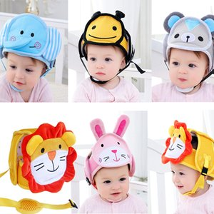 ideacherry Baby Safety Cap Child Learn Walking Anti-collision Protective Hat Toddler Helmet Soft Head Protection Adjustable Hats