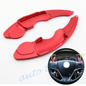 Red Alloy Auto-Gang Lenkrad DSG Shift-Paddle-Erweiterung Shifter Fit für Lexus IS NX RC 2014 2015 2016 2017 Zubehör