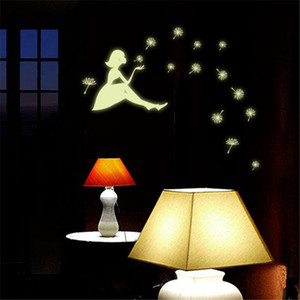 wall stickers Luminous Glow in the Dark Stars Moon Decals Home Decor Wall Stickers Hot 3D For Kids Baby Room Bedroom Ceiling