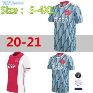 Büyük boyutlarda-4XL, 20 21ajax Jersey Ev UZAK Futbol Jersey TADIC VAN DE BEEK ZIYEC NERES AJAX maillot de foot Huntelaar Futbol Gömlek