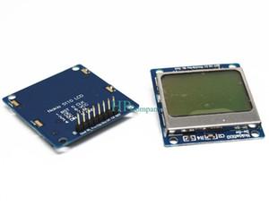 Freeshipping 10PCS e Single chip computer development Board LCD module Nokia 5110 screen compatible 3310 LCD 84*84