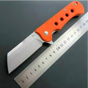 Bıçak Çoklu Araçlar Cep Survival şimdi hediye bıçak Adker katlama eafangrow EF45 D2 bıçak G10 kolu Taktik Av