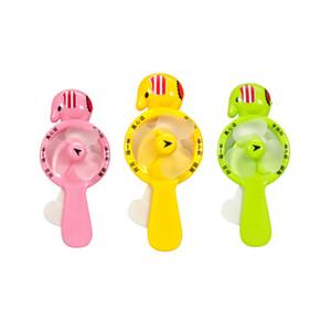 Hand Held Pressione Fan USB Dos Desenhos Animados Engraçado Celular Gadget USB Protetable Mini Ventilador Pequeno Ar Condicionado Legal Verão Brinquedos Tester Presentes Dos Miúdos