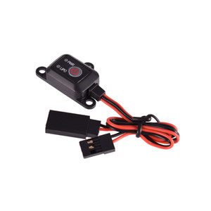 SKYRC Power Switch w  MCU control led Indicator LIPO NIMH Battery Electric Switch Botton For RC Gasoline Car Model Aircraft Part