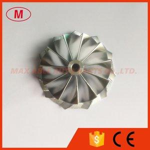 TD04HL 20T inversa 11 + 0 cuchillas 49189-x 47,04 / 58.00mm Turbocompresor Billet / molienda / aluminio 2618 de rueda del compresor