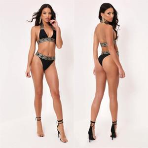 Summer New Women's Two-Piece Classic Fashion Pattern Brand Designer Swimsuit Sexy Bikini Popular Lady Travel Surfing Beach Swimsuit