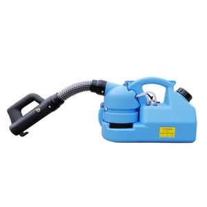 Elektrikli ULV Püskürtme Sivrisinek Killer Taşınabilir Dezenfeksiyon Makinesi Soğuk Sisleme 7L Kapasite İnsektisit Atomizer DHL Kargo