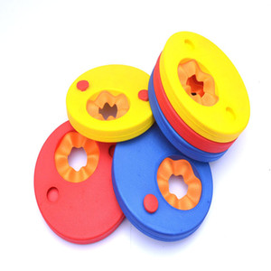Dischi di schiuma di schiuma EVA Bande di braccio galleggiante Per bambini Maniche galleggianti Circles Anelli Pools Strumento di allenamento di nuoto