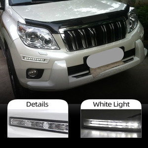 1 paio 12v automobile di giorno della luce corrente LED per Toyota Prado FJ150 LC150 Land Cruiser 2700/4000 2010 2011 2012 2013