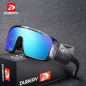 Occhiali da sole Dragon Dubery Occhiali da sole maschili retrò da uomo Occhiali da sole per uomo 2018 Fashion Brand Luxury Shades Mirror Oversized Oculos C19041001