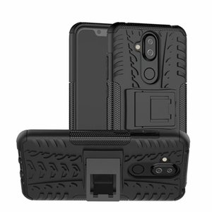 6.18inch For Nokia 7.1 Plus Shockproof Armor Silicon Phone Case For Nokia X7 Anti-Knock Soft TPU Cover Coque Capa Shell Case