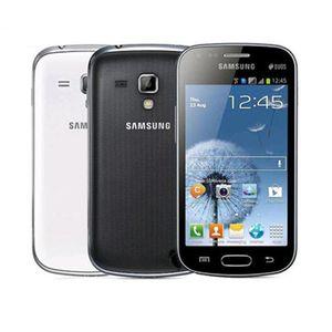 Восстановленное в Исходном Samsung S7572 S7562I GALAXY Trend Duos II 3 Г WCDMA 4,0-дюймовый Экран Android WIFI Сотовый телефон