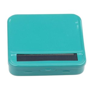 Colorful Rollbox Automatic Cigarette Rolling Machine 70MM DIY Roller Box Case Perfect Way Of Rolling High Quality Smoking Accessories DHL