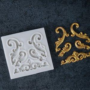 Forme de relief européenne 3D relief artisanat chocolat de confiserie Moule en silicone Fondant Gâteau Cuisine Décorer DIY Outils