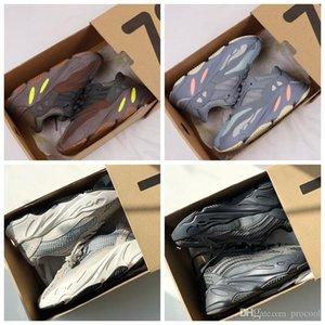 2020 Wave Runner 700 V2 Magnet Kids Running Shoes Kanye West Vanta Utility Black Inertia Trainers Sports Designer boy girl Children Sneakers