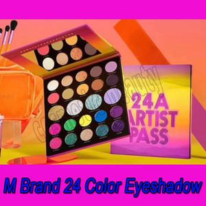 .Eye maquiagem 24a artista passe 24 cores paleta de sombra fosca shimmer sombra paletas olho sombra cosméticos
