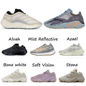 Azael Glow 3m 700 v3 Alvah Carbon Blue v2 380 Mist Kanye west 500 Soft Vision Running Shoes for Men Women Sneakers Trainers