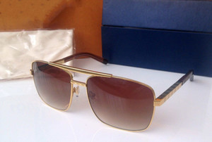 Gold Attitude мужские солнцезащитные очки Z0259U с металлическим каркасом солнцезащитные очки для мужчин марка дизайнер винтаж роскошные солнцезащитные очки совершенно новый в коробке
