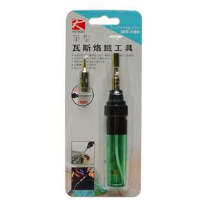 Nouveau Emballage sans fil torche fer à souder MT-100 Gaz Butane fer à souder Pen