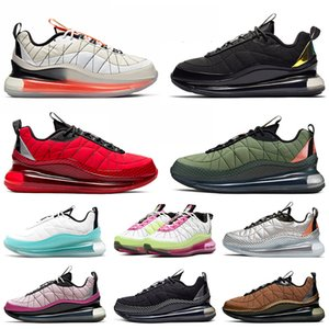 air max mx 720-818 Toptan koşu ayakkabıları erkek kadın yelken orange siyah magma üniversitesi kırmızı kargo haki moda spor eğitmenler sneakers