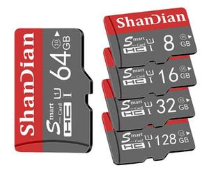 Originale smart SD 64GB Classe 10 scheda di memoria SmartSD 8GB 16GB 32GB TF SmartSDHC / SDXC per Smartphone Tablet PC /