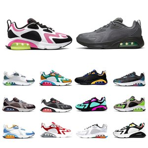 Nike air max 200 airmax Stock X Just 200 mens running shoes 200s Bubble Pack Stone Brown Pastel Blue Voltage Purple Teal women men trainers sports designer sneakers