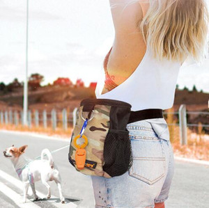 New Arrival Indoor and Outdoor Training Pet Food Bag Portable Dog Treat Pouch with Waist Belt