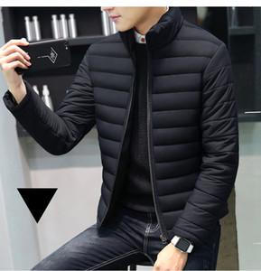 Mrmt gerebloggt 2019 Marke Herbst-Winter-neue Männer Jacken Kragen verdickte Mantel für Männer unten Cotton Kleidung Jacke Bekleidung Garment V191028