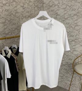 Hot frete grátis alta qualidade luxo camisa dos homens T-Casual T-shirt Brandshirts Designerluxury Mulheres Moda Carta Knit Verão Tees 2022810Q