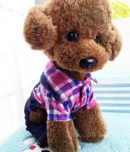 كلب الملابس القطن صغير الكلب معاطف الشتاء الدافئة جرو جاكيتات لينة كلب زي الكلاب الملحقات 4 تصاميم اختياري شحن مجاني LXL731Y