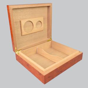 Große Kiste Zigarette Humidor Creative Rote Zedernholz-Zigarrespeicher-Humidor, kann 25 - 30 Zigarren halten