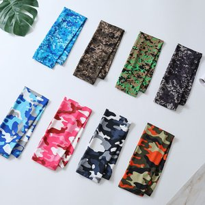 Summer Camouflage ice Cuffs Outdoor Riding Fishing sun Protection Arm Sleeve for Men and Women uv Protection Sleeve DA593