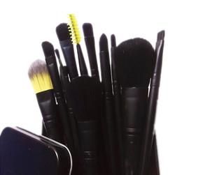MP metal case professional makeup brushes set 12 piece Powder Foundation Eye Shadow Cosmetics Brush kit