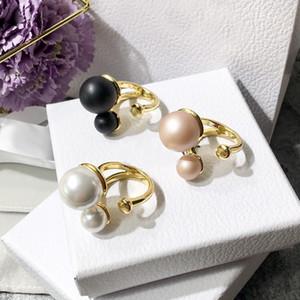 titânio, aço Marca Pérola anéis abertos acabamento cruz para o dia anéis de noivado do anel dom mulheres homens amor Partido dos Namorados