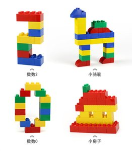 150pcs Children DIY Creative Building Bricks Blocks Toys Intelligence Large Building Blocks Primary Construction For Kids Gift