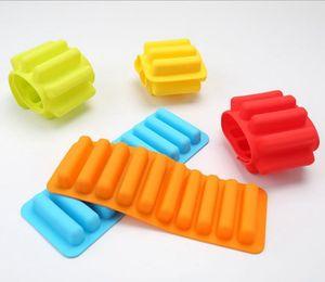 Finger Keks-Schokoladen-Form 10 Holes Lange Finger Backformen Thumb-Plätzchen-Formen Bakeware Mold Kreative Küche Werkzeuge LQPYW910