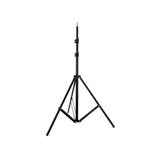 "Relfectors, Softboxes, 조명, 우산, 배경을위한 1/4 ""나사가있는 6.5ft / 2M 조절 형 사진 스튜디오 라이트 스탠드 삼각대"