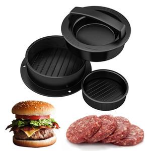 Кухня круглой формы гамбургер Press Food-Grade ABS Hamburger Meat Пресс Говядина гриль гамбургер Пресс Пэтти Maker прессформы Tool