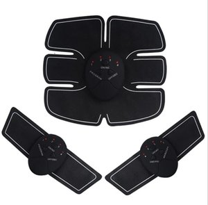 EMS Wireless Muscle Stimulator Smart Fitness Abdominal Training Device Electric Weight Loss Stickers Body Slimming Belt Unisex J1755