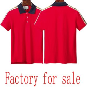 summer cotton solid color new style brand men's polo top quality luxury men's polo shirt factory for sale