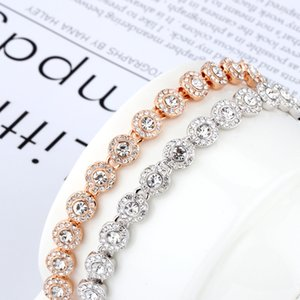 High quality SWA new style best material, low-key gorgeous fashion lady crystal romantic lady Bracelet