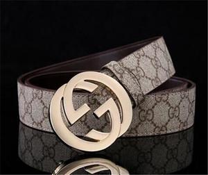 Heißer Verkauf neuen Mode-Geschäft Ceinture 20 Stil G # Gürtel Design der Frauen der Männer Riem mit Gold-G # Schnalle schwarzen Gürtel als Geschenk 7z76y