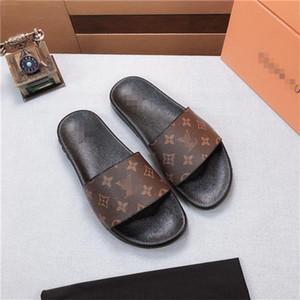 N76 últimas nueva de alta calidad hombres sandalias casuales de la moda de las mujeres zapatillas chanclas populares zapatos de tacón alto verano zapatillas de tacón alto talón 4.5cm