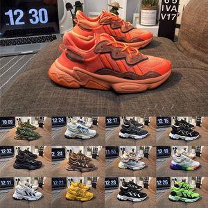 2019 Lüks 3 M Yansıtıcı Xeno Ozweego Kadınlar Hız Calabasas Koşu Ayakkabıları Kanye 500 Erkek Eğitmenler Tasarımcı Sneakers Boyutu 36-45