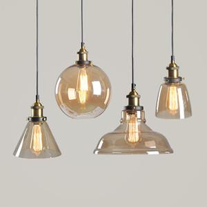 Ретро лофт промышленного стекла Edison подвесные светильники для кофейных бар Dinning Room Home Украшение дома PA0009