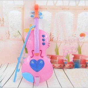 Çocuklar için 4 Dize Lute Mini For Kids Müzik Aletleri Elektrikli Keman Çocuk Müzik Aletleri Eğitim Oyuncak Can Play öğrenin